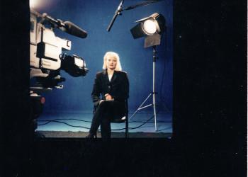 Melline Mollerus presentatrice van Filmnet