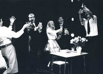 Melline Mollerus in een productie van het  MUZtheater