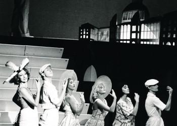 """Melline Mollerus in de musical de """"Zoon van Louis Davids"""""""