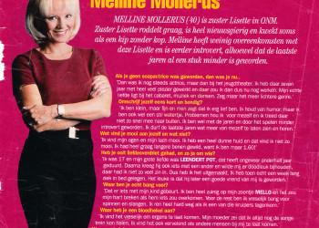Melline Mollerus publiciteit